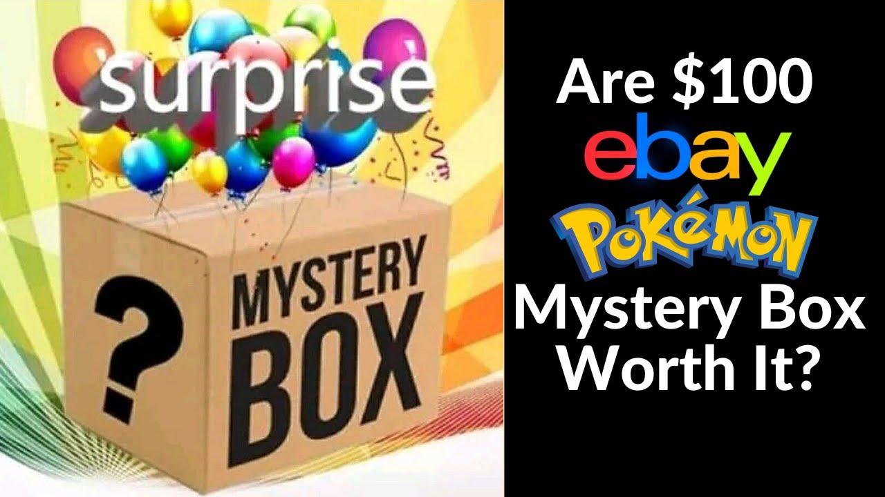 Should You Buy A 100 Ebay Pokemon Mystery Box Youtube