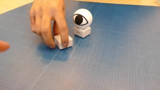 ソニー toio デモ 追従、衝突の仮想モーションなど thumbnail