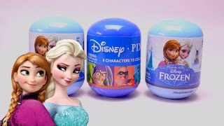 Disney Frozen & Toy Story Plastic Surprise Eggs with Toys