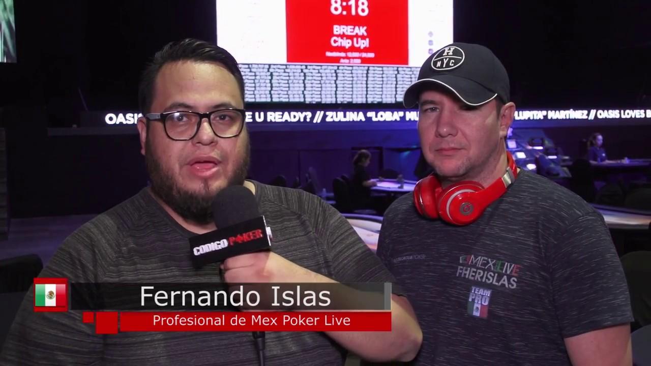 Red Poker Tour Día 2: Entrevista con Fernando Islas