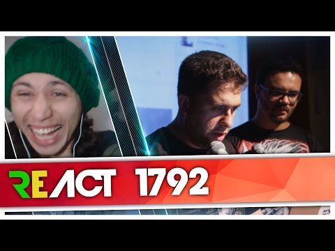 React 1792 WEBBULLYING (FACEBULLYING) #134 - O POETA [Mauricio Meirelles]