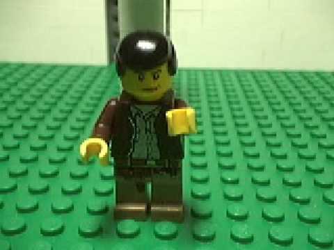 Christian Bale Freakout Dance Remix-LEGO
