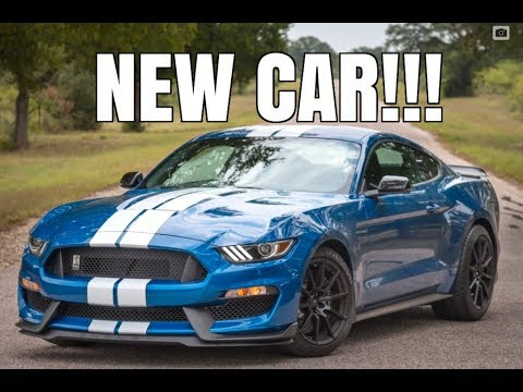My New Car Reveal! – 2017 Shelby GT350 Ford Mustang