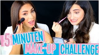 5 Minuten Make Up Challenge mit Merna  ♡ | HANADIBEAUTY