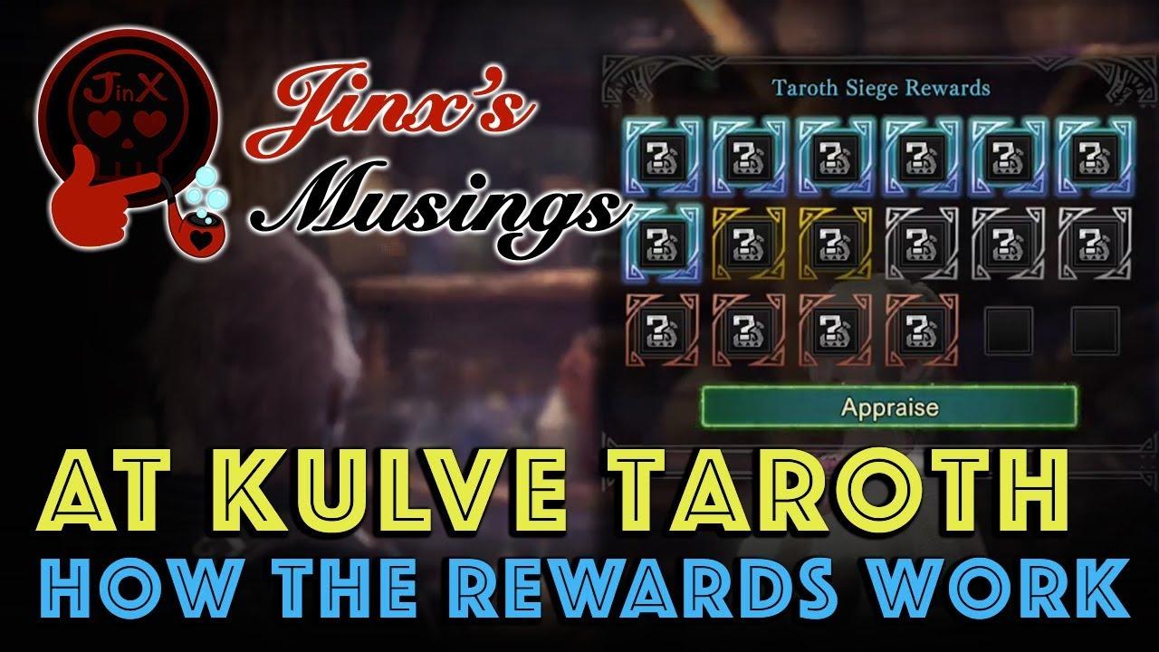 Get more Kjarr Weapons: AT Kulve Taroth Rewards Guide (MHW)