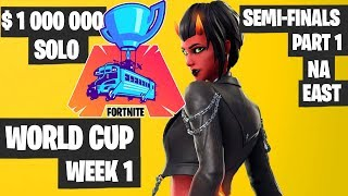 Fortnite World Cup Semifinals Part 1 Highlights - NA East Day 1 [Fortnite Tournament 2019]