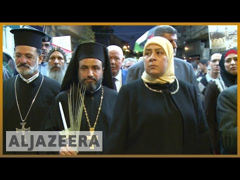 🇵🇸 Israel-Gaza violence: Christians and Muslims attend vigil