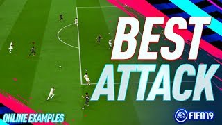 BEST ATTACK FOR THE WINGS!! - Fifa 19 Advanced Attacking Tutorial