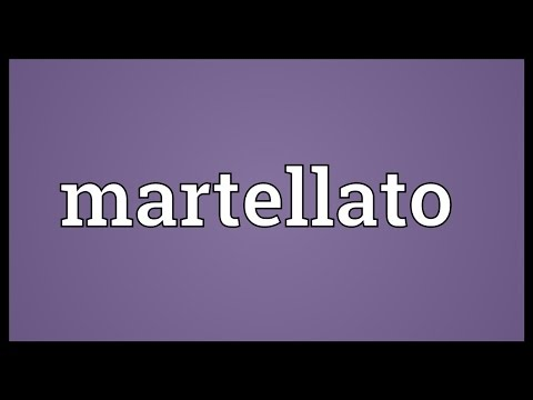 Martellato Meaning