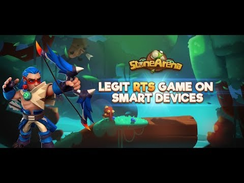 Stone Arena Gameplay First Look iOS
