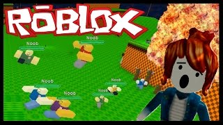 ATTACKED BY NOOBS! - ROBLOX - Survive the Disasters (Facecam)
