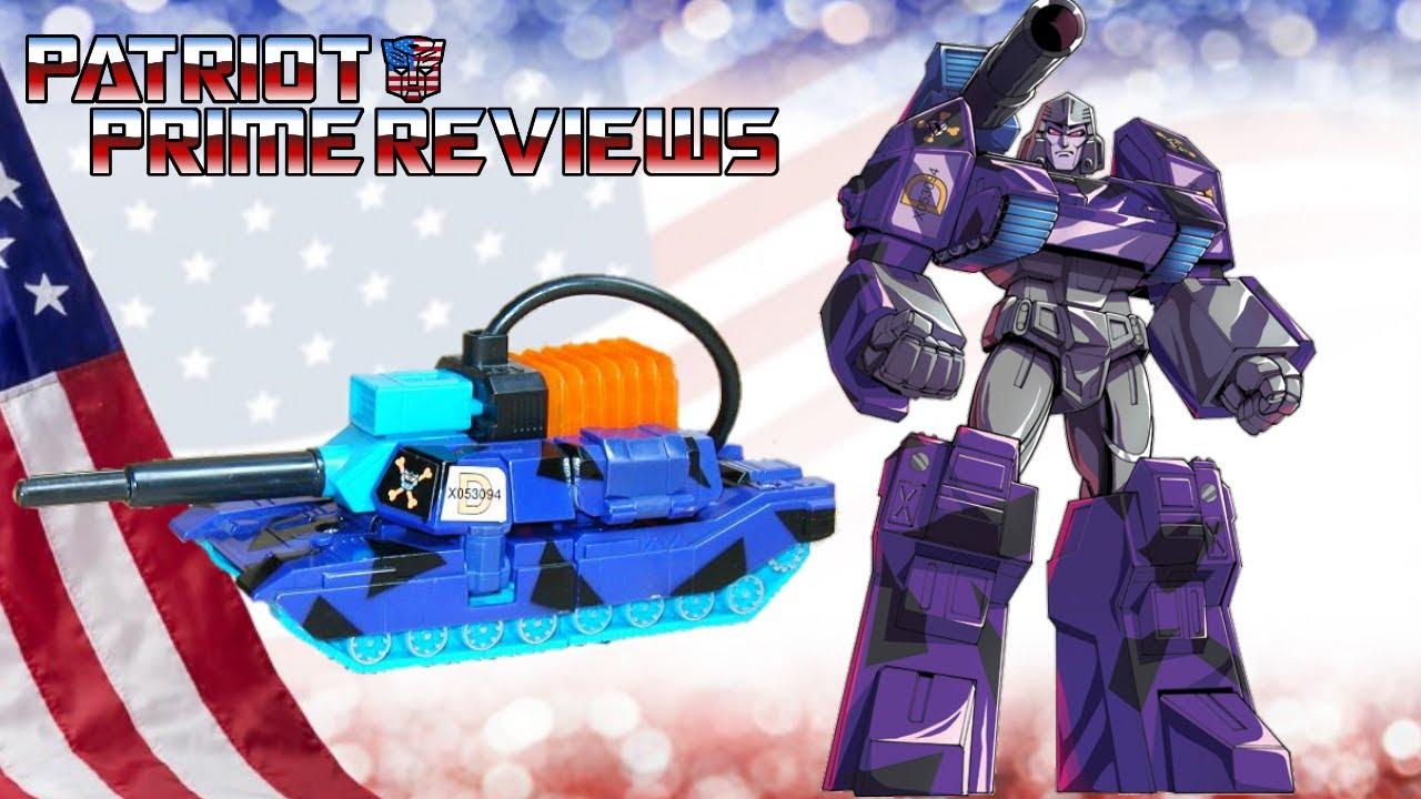 Flashback Friday! G2 Hero Megatron by Patriot Prime Reviews