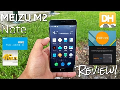 """Meizu M2 Note - [Review] - MTK6753 - 2GB/16GB - 5MP/13MP - 4G LTE - 5.5"""" FHD - Android 5.0"""