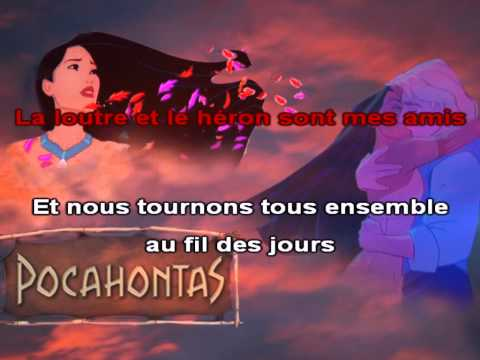 Pocahontas - L'air du vent [karaoké]
