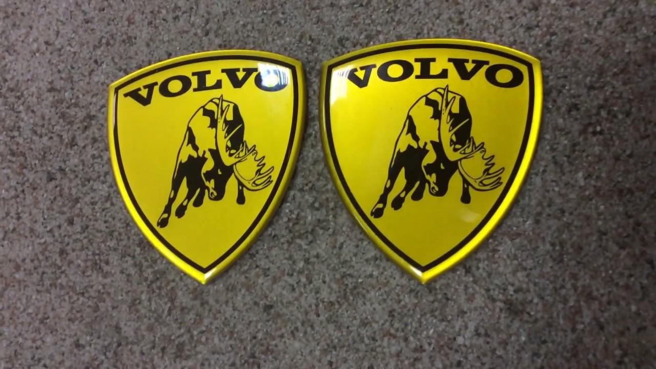 Alstickers Lambo Moose Volvo Aluminum Polyurethane Car Sticker