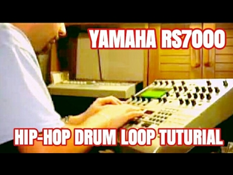 Yamaha RS7000 Basic Hip Hop Drum loop beat making with MR TONY RAW