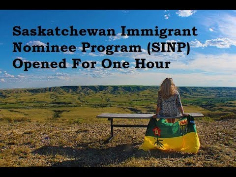 Saskatchewan Immigrant Nominee Program Opened For One Hour Canada Immigration Visa
