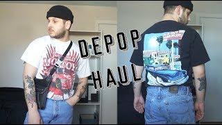 Depop Haul   Mens Thrift Shopping Haul   Very Chill S/S 2019