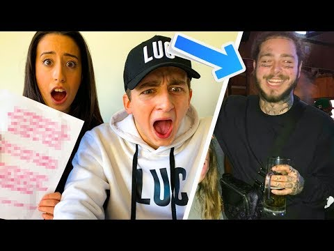 SURPRISING FRIENDS WITH POST MALONE