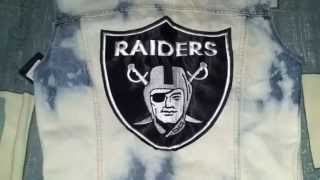 Chaleco de los RAIDERS - F AS IN FRANK