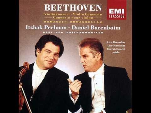 Itzhak Perlman - Beethoven Violin Romance No. 2 , Op. 50