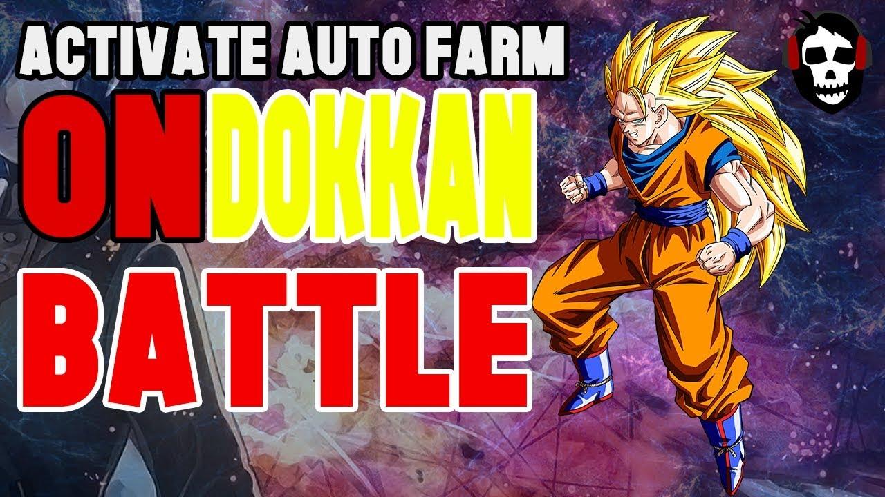 How to activate AutoFarm on Dokkan Battle|Root Needed|