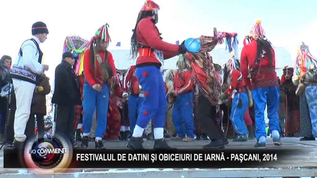 1 FESTIVALUL DE DATINI SI OBICEIURI DE IARNA - PASCANI 2014