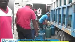 INTENDENTE DE POLICÍA EVIDENCIÓ MALA DISTRIBUCIÓN DEL GAS EN PIMAMPIRO
