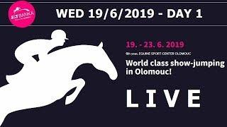 Sledujte ŽIVĚ 1. den parkurových závodů J&T Banka CSI3*-W Olomouc 2019