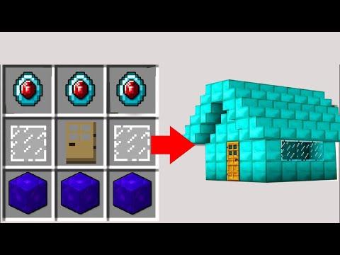 Minecraft NOOB vs PRO: HOW DID NOOB BUILD THIS DIAMOND HOUSE? Challenge 100% trolling