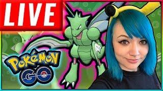 LIVE: SHINY SCYTHER HUNT Pokémon GO Stream