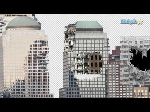 Photoshop Tutorial - Destroy City - Put a hole in the building