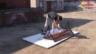 Как самостоятельно собрать скамейку