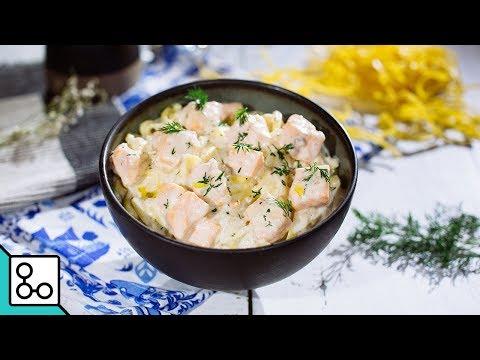 pâtes-au-saumon---youcook