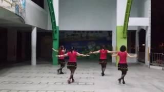 仁和排舞班:風微微情綿綿 (背面)