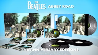 The Beatles ABBEY ROAD Anniversary Editions - Unboxing
