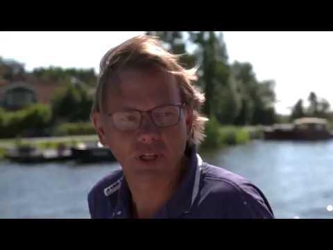 Welkom op het water - motorboot varen - tocht naar Amsterdam - 23 aug 16 - 09:15