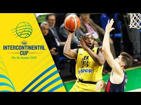 San Lorenzo v AEK - Condensed Game - FIBA Intercontinental Cup 2019