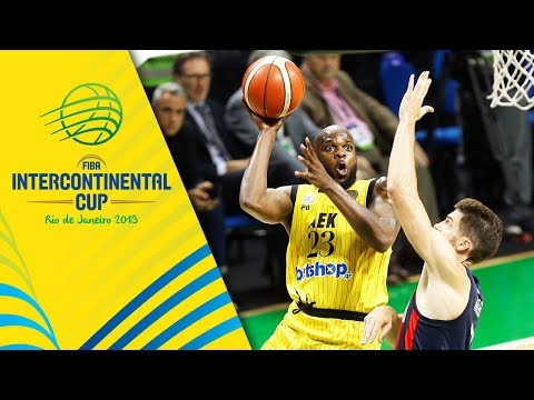 San Lorenzo v AEK - Condensed Game - FIBA Intercontinental Cup 2019