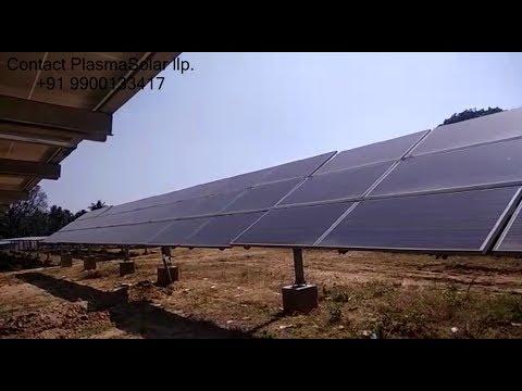 Solar Tracker Technology in INDIA - PlasmaSolar llp.