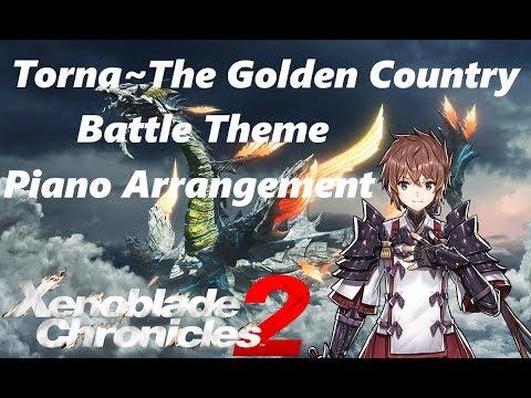 """Torna ~ The Golden Country: Battle Theme"" - Piano Arrangement (Sheets In Description)"