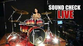Cek Sound Bass Dram Kick Snare Cymbals
