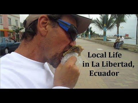 Everyday Local Life for Two Gringos in Salinas-La Libertad Ecuador VLOG
