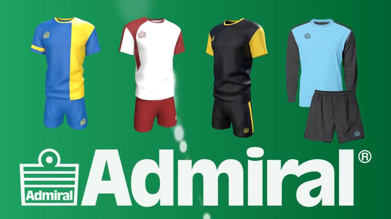 Admiral Football Kits - YouTube 9f7410eb8