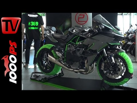 Kawasaki H2R | Erste Auslieferung | Soundcheck | Interviews