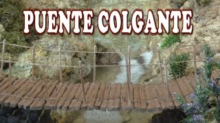 Diy Puente Colgante - Suspension Bridge