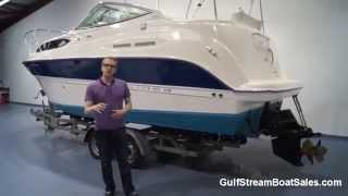 2007 Bayliner 245 For Sale -- Walk Through and Water Test By GulfStream Boat Sales