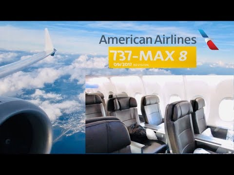 American Airlines Boeing 737MAX 8 First Class Review: It's Not Bad!