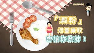 【愛瘦美問邱醫】過量攝取「澱粉」成肥胖元兇! thumbnail