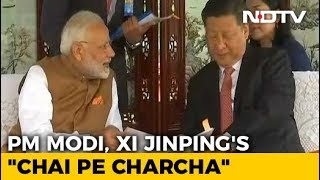 PM Narendra Modi and China's Xi Jinping